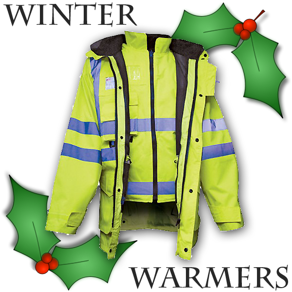 Nights closing in – Get your High Vis