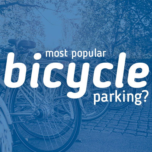 Most popular type of bicycle parking?