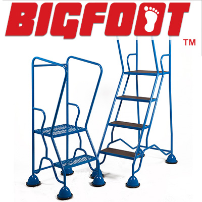 BigFoot Warehouse Steps – Boost Safety with Mobile Safety Steps