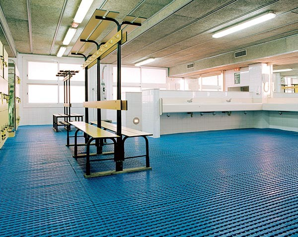 Herontile Anti Slip Tile Matting in use