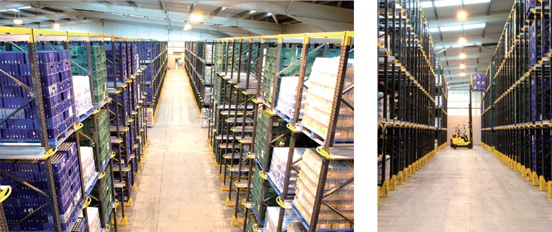 Drive In Pallet Racking provides up to 80% more storage