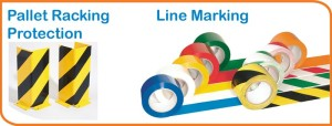 Pallet Racking Protection and Line Marking Tape