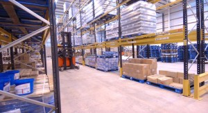 Wide Aisle Pallet Racking gives optimal space between racking rows