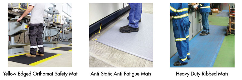 Anti Fatigue Mats will prevent the onset of debilitating RSI conditions in the workplace.