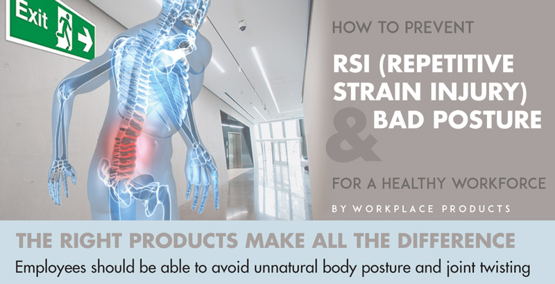 Prevent RSI with ergonomic Products
