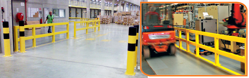 Impact Protection Safety Barriers