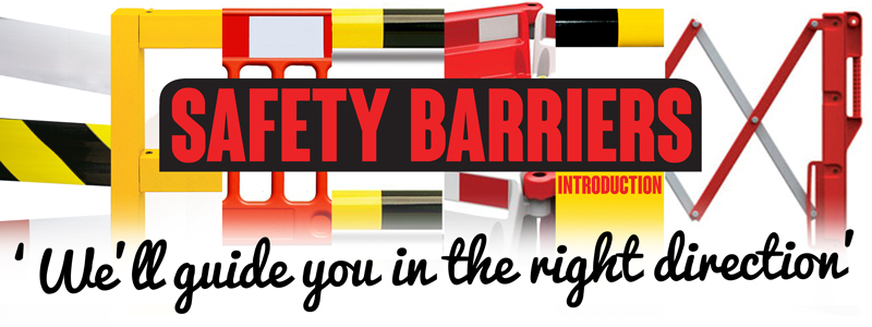 Safety Barriers for warehouse, retail sector and road use