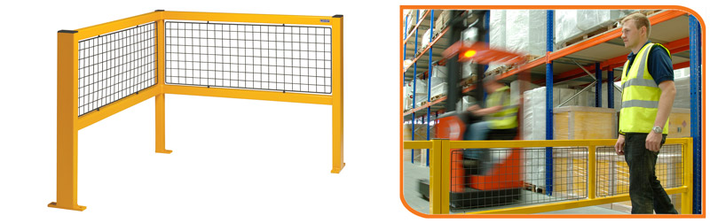 Walkway Safety Barriers have are modular and are available with gate units where required.