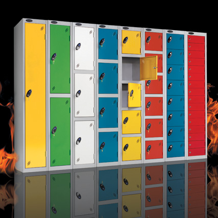 Non-combustible Probe steel lockers
