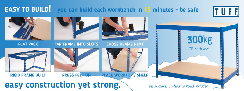 How to build the TUFF Workbenches