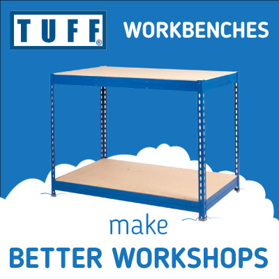 Use these workbenches to make cost efficient workshops
