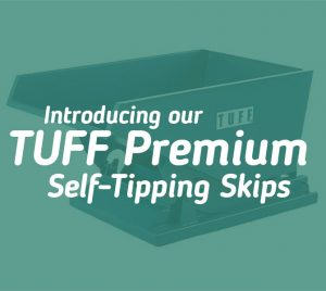 TUFF Premium Self Tipping Skip