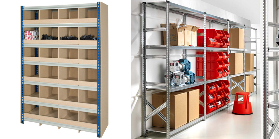 Compartment and Steel Shelving For Your Small Business
