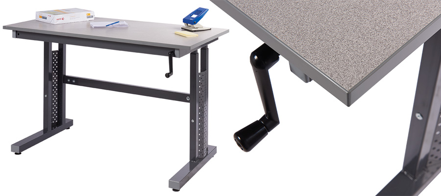 Cost Saver Height Adjustable Workbench