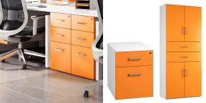 Two Person Office Storage