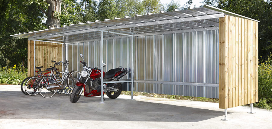 Mottez Alpine Cycle Shelter