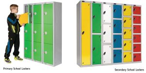 Primary and Secondary School Lockers