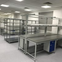 Project – Active Silicones Bespoke ESD Workbench Installation