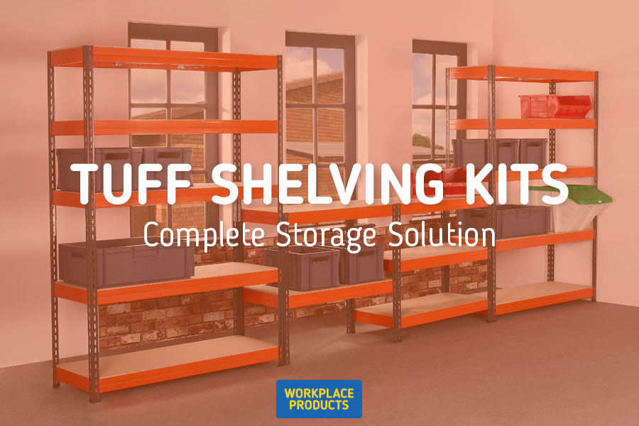 TUFF Shelving Kits - Storage Solution