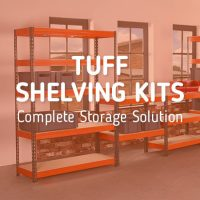 A Complete Storage Solution – TUFF Shelving Kits