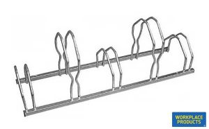 Staggered Cycle Racks