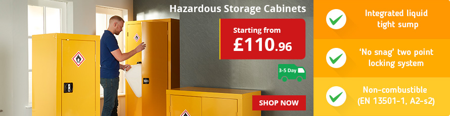 CoSHH Cabinets. See the range today