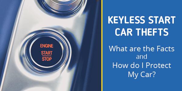Keyless Start Car Crime