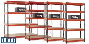 TUFF Storage Shelving Group