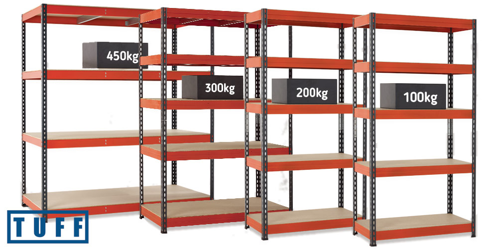 TUFF Storage Shelving Group