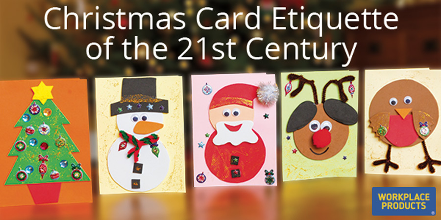 Christmas Cards Etiquette Banner