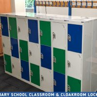 Primary School Classroom Lockers Project
