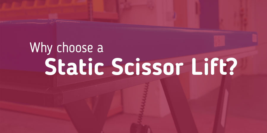 Static Lift Tables Banner