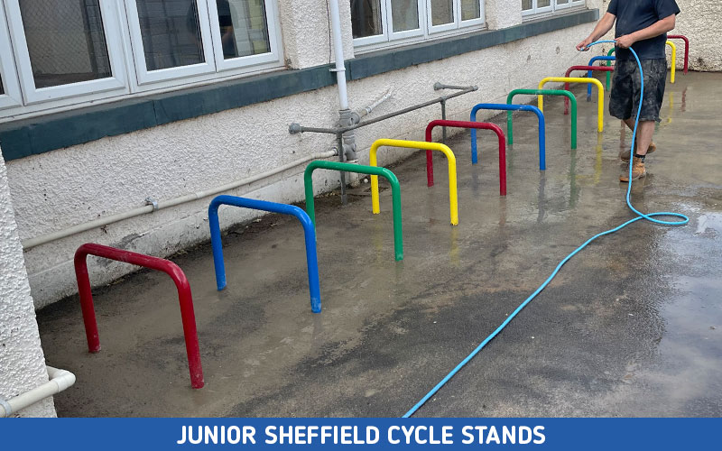 Junior Sheffield Cycle Stands