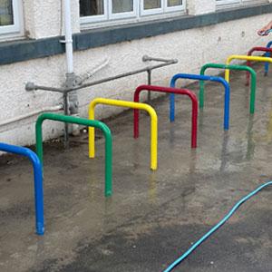Project – School Cycle Racks