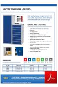 Laptop Charging Lockers Data Sheet