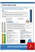 Lockers Buyers Guide Data Sheet
