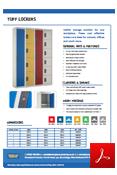 TUFF Lockers Data Sheet