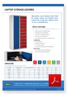 Laptop Storage Lockers Data Sheet