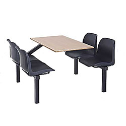 Eco Canteen Seating - Fully Welded