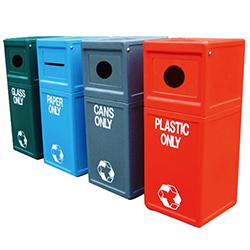 Outdoor Waste Bins