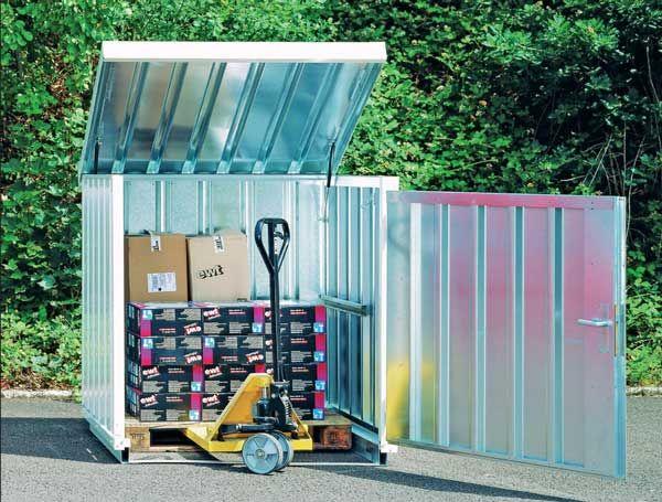Galvanised Storage Containers, Galvanised Storage Container
