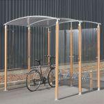 Wooden Pillar Shelter - W2000 x D2000 x H2200mm