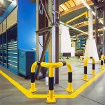 Heavy duty Protection barrier- In Use