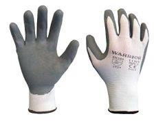 Grey Foamed Lined Gloves (12 Pk)