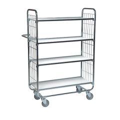 Order Picking Trolley - 4 Shelves