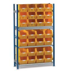 Shelving Kits with WPTC5 Bins