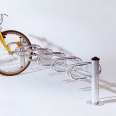 6 Bike Single Sided Cycle Rack