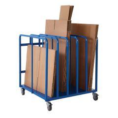 Cardboard Packaging Trolley H1030 x W900 x D940mm