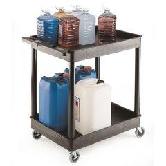 Plastic Multi-Purpose Trolley 2 Trays