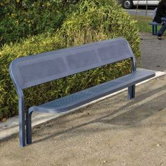 Steel Frame with Steel Construction Seats